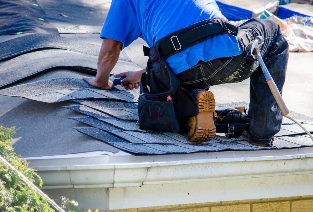 réaliser une réparation toiture
