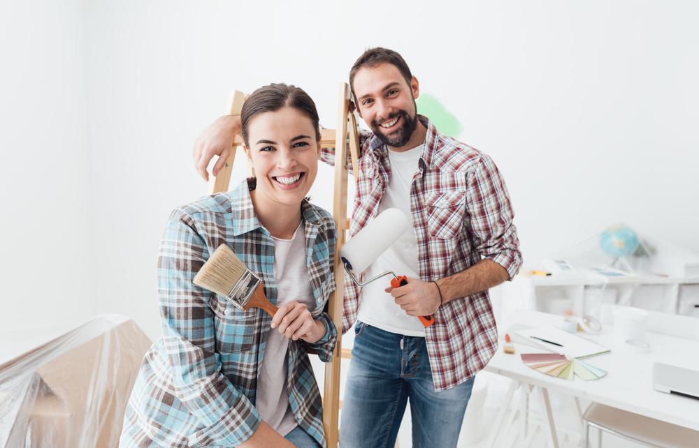 Peinture pour l'intérieur de la maison